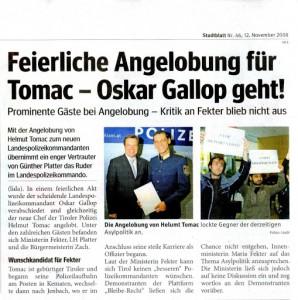 stadtblatt_Fekter in Innsbruck