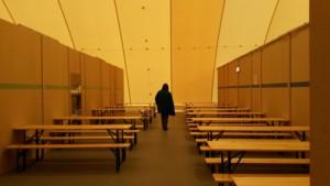 Traglufthalle Hall_Unterbringung